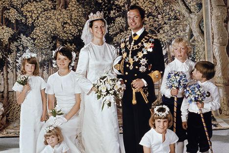 Szwedzka para królewska obchodzi 40 rocznicę ślubu